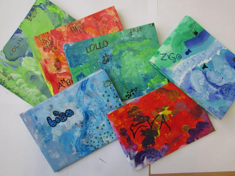 Le copertine multicolori