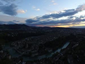 Stadt Bern - aufgenommen mit dem Quadrokopter